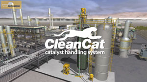 The CleanCat Catalyst Handling System